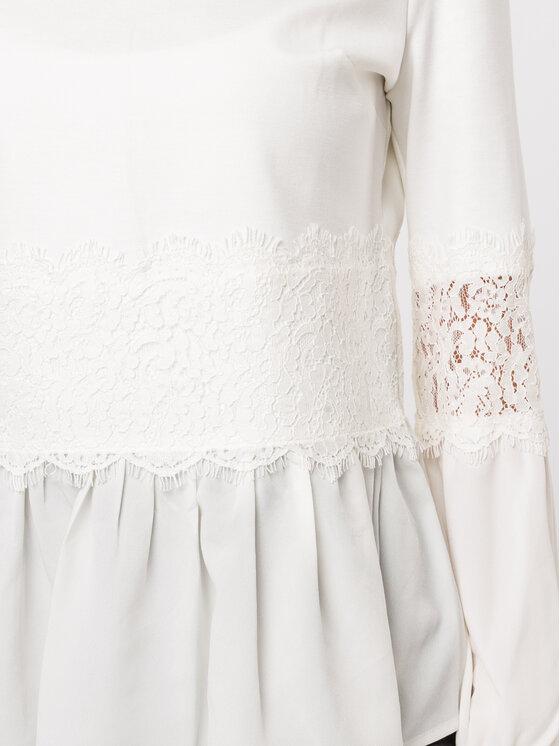 TWINSET TWINSET Bluse 192TT2213 Weiß Regular Fit