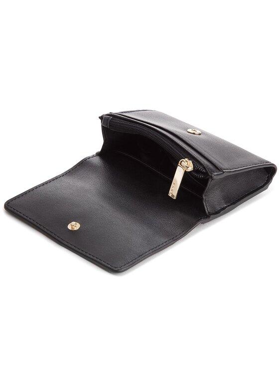 DKNY DKNY Kis női pénztárca Flap Card Casetilly Debossed Logo R82ZV503 Fekete