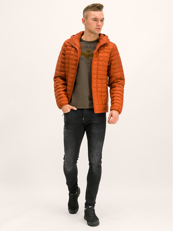 The North Face The North Face Geacă din puf Thermoball Eco NF0A3Y3MJQ3 Maro Slim Fit