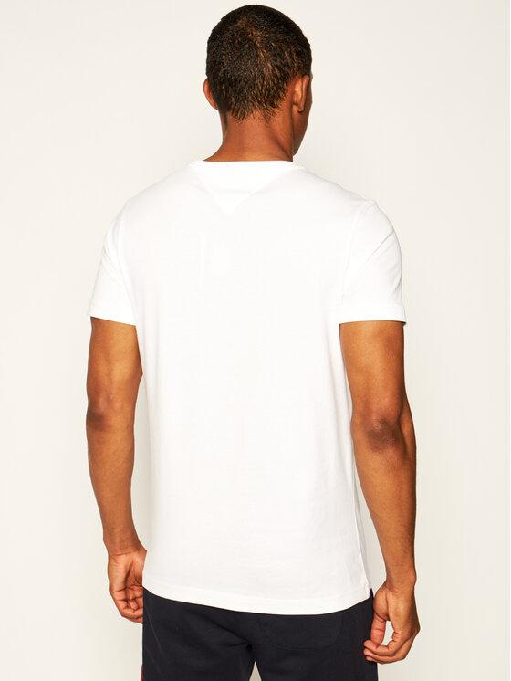Tommy Hilfiger Tommy Hilfiger T-Shirt Essential MW0MW13344 Λευκό Regular Fit