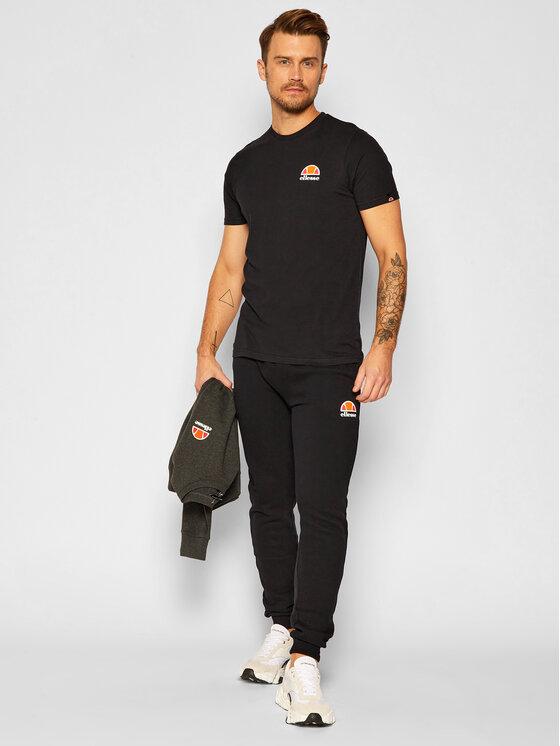 Ellesse Ellesse T-Shirt Canaletto SHS04548 Czarny Regular Fit