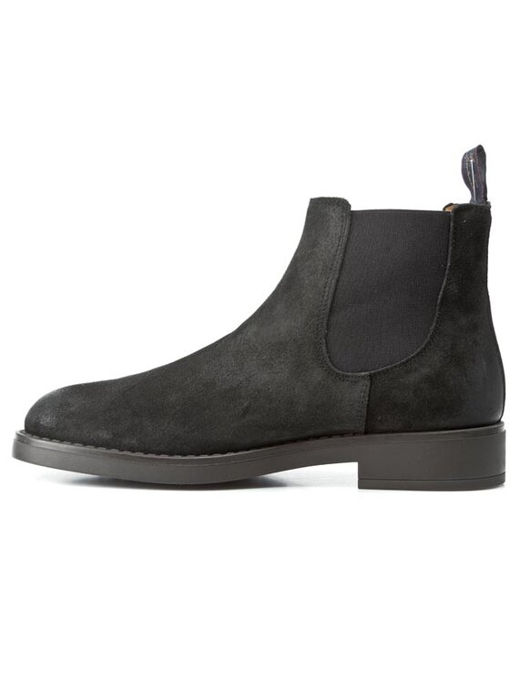 Gant Gant Členková obuv s elastickým prvkom Oscar 11653894 Čierna