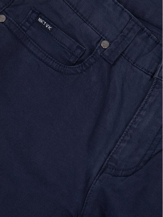 Mayoral Mayoral Pantaloni di tessuto 520 Blu scuro Slim Fit