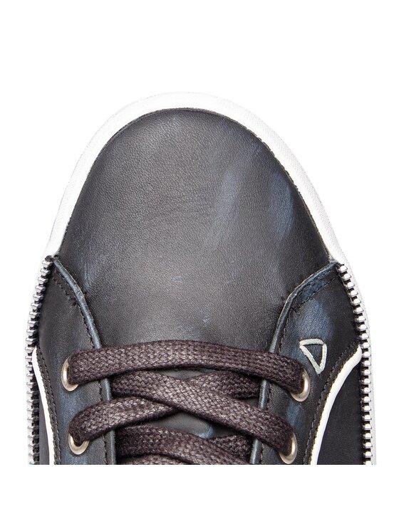 Guess Guess Sneakersy FMLOW4 LEA12 Czarny