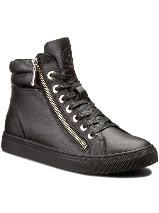 Armani Jeans Armani Jeans Sneakers 925000 6A437 00020 Negru