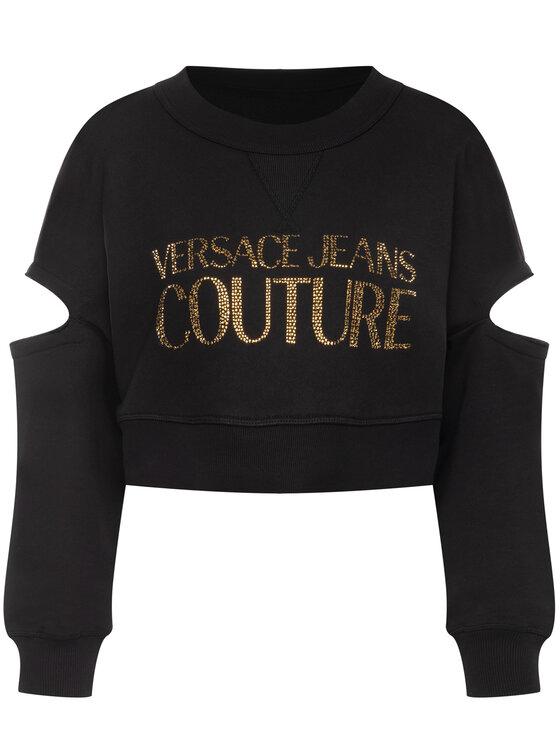 Versace Jeans Couture Versace Jeans Couture Sweatshirt B6HVA74T Noir Regular Fit