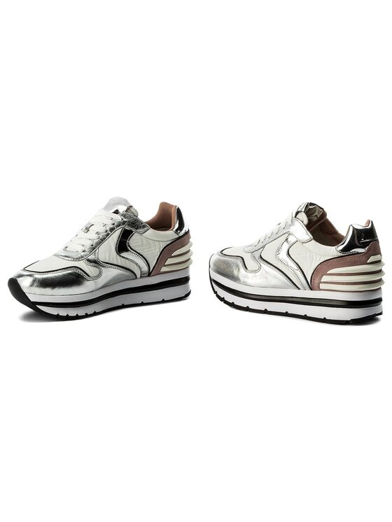 Voile Blanche Voile Blanche Sneakers May Power 0012012434.04.9132 Silberfarben