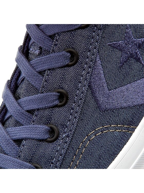 Converse Converse Sneakers aus Stoff Star Player Ox 151308C Dunkelblau