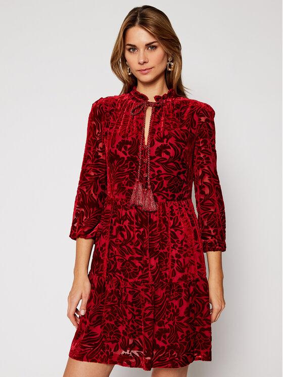 Luisa Spagnoli Kasdieninė suknelė Generis 537572 Raudona Regular Fit