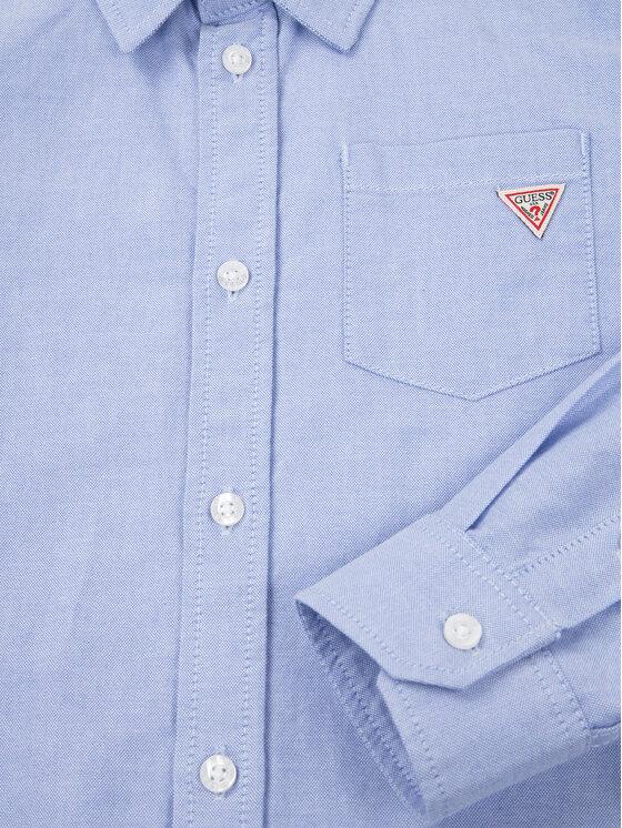 Guess Guess Košile L01H05 W9CL0 Tmavomodrá Regular Fit