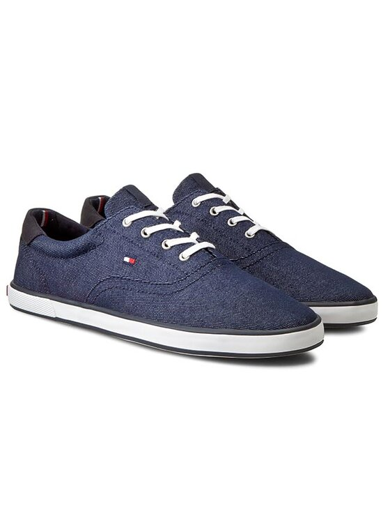 Tommy Hilfiger Tommy Hilfiger Sneakers aus Stoff Harlow 3F FM56821168 Dunkelblau