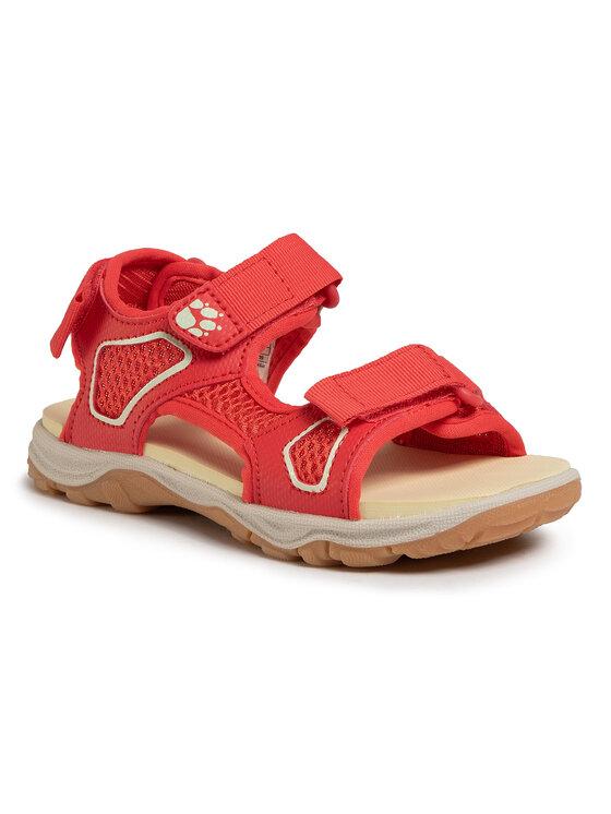 Jack Wolfskin Basutės Taraco Beach Sandal K 4039531 S Raudona