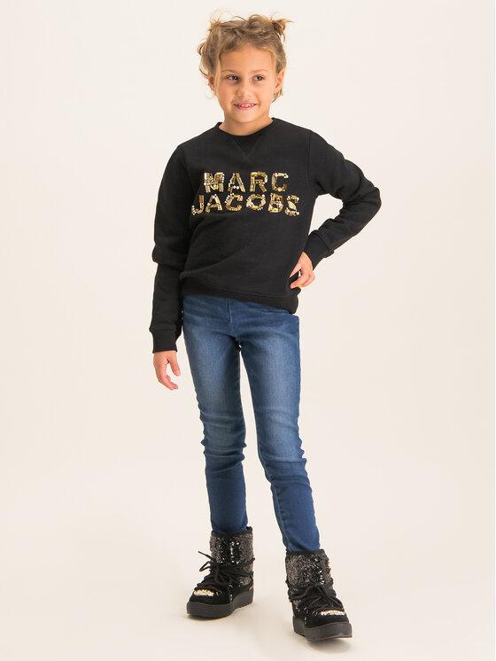 Little Marc Jacobs Little Marc Jacobs Džemperis W15452 Juoda Regular Fit