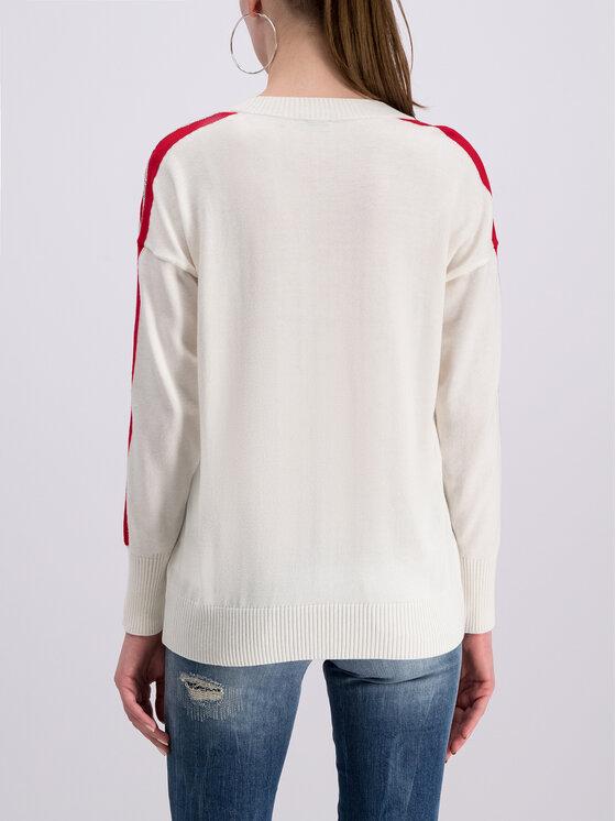 Guess Guess Sweter Julie W93R81 Z2G40 Biały Regular Fit
