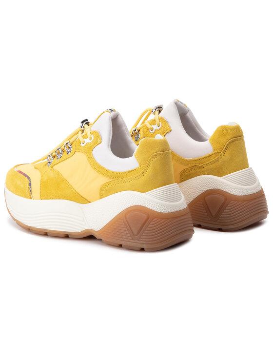 Bronx Bronx Sneakersy 66255-CP Żółty