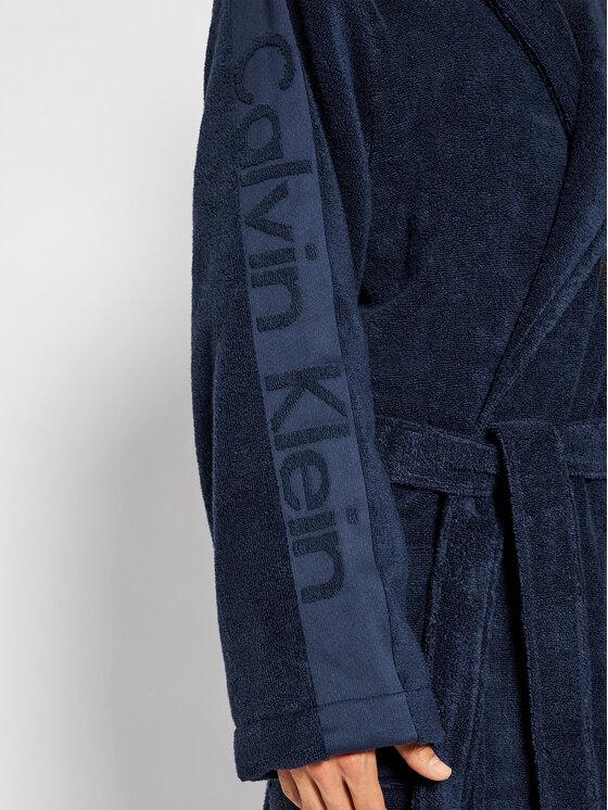 Calvin Klein Underwear Calvin Klein Underwear Szlafrok 000EM1159E Granatowy