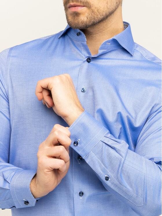 Emanuel Berg Emanuel Berg Marškiniai Hv-Harvard PEB45789 Mėlyna Modern Fit
