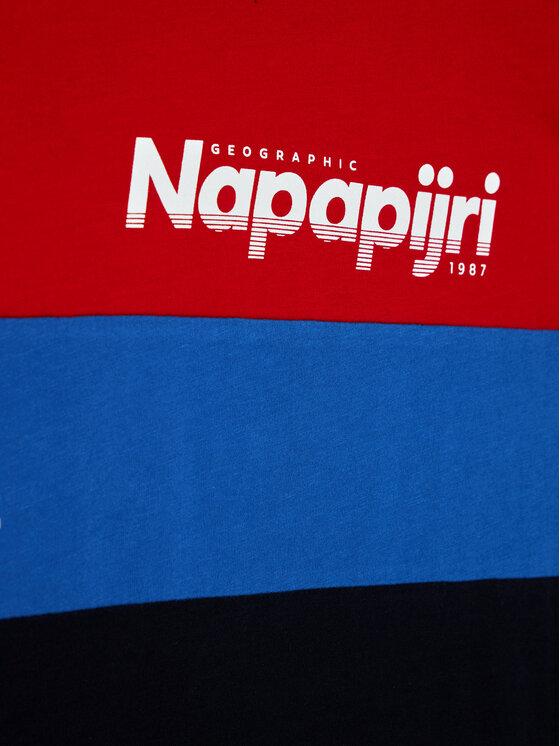 Napapijri Napapijri T-Shirt K Saloy Cb NP0A4EQE D Kolorowy Regular Fit