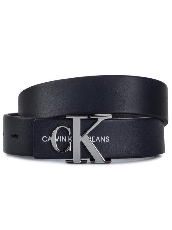 Calvin Klein Jeans Calvin Klein Jeans Ceinture femme J 3Cm Mono Leather Belt K60K605425 Bleu marine