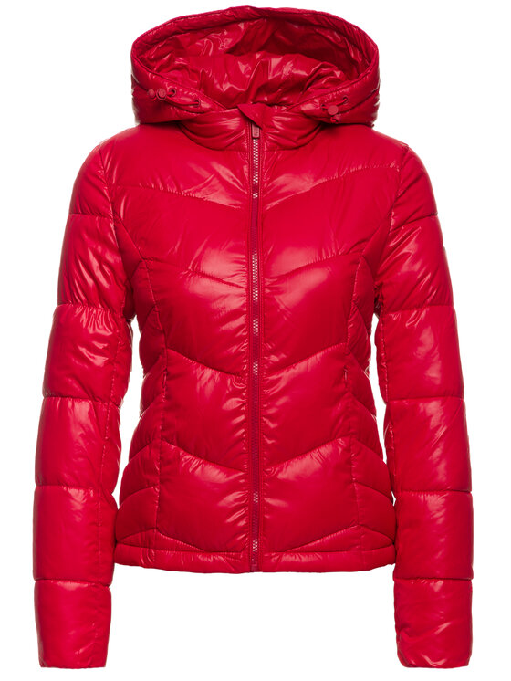 Pepe Jeans Pepe Jeans Kurtka puchowa Imani PL401701 Czerwony Regular Fit
