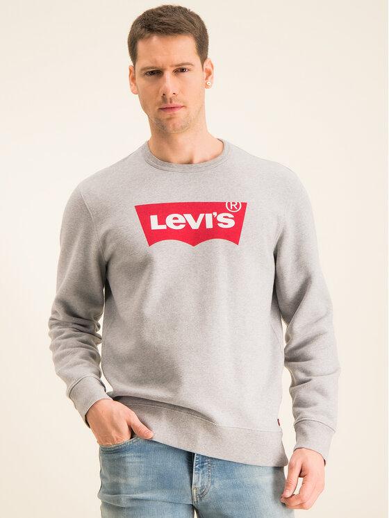 Levi's® Levi's Džemperis Graphic Crew 17895-0079 Pilka Regular Fit