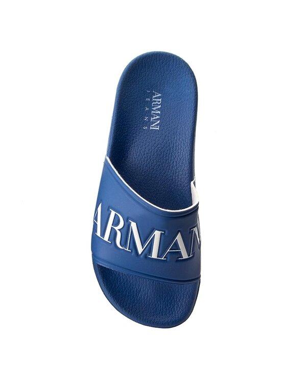 Armani Jeans Armani Jeans Šľapky 935097 7P440 15232 Tmavomodrá