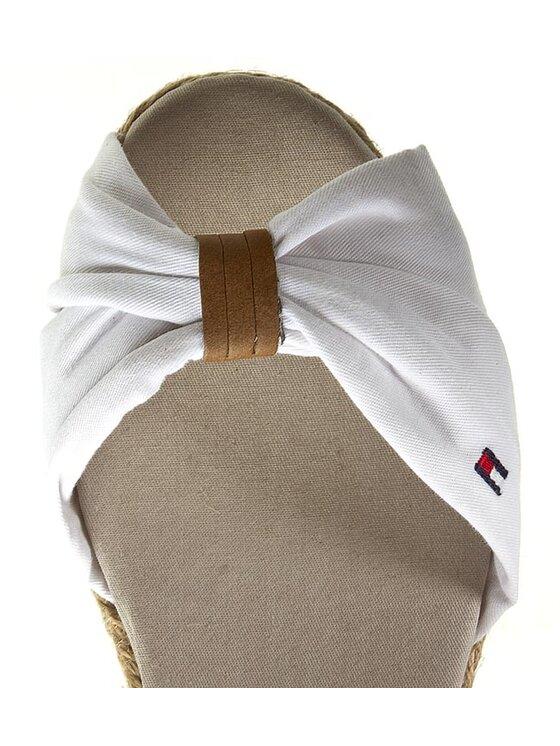 Tommy Hilfiger Tommy Hilfiger Espadryle Sue 11D FG56819163 M Biały