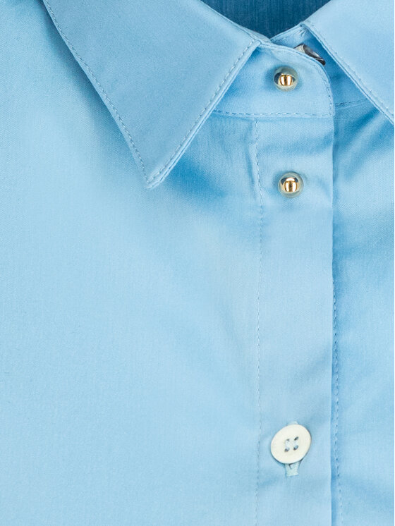 Patrizia Pepe Patrizia Pepe Marškinių tipo suknelė 2A1950/A23-C751 Mėlyna Regular Fit