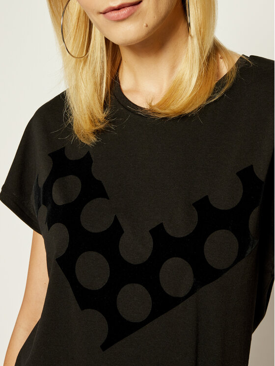 Emporio Armani Emporio Armani T-shirt 6G2T7T 2J4CZ 0999 Nero Regular Fit