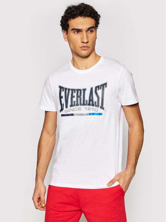 EVERLAST Marškinėliai EVERLAST-87 Balta Regular Fit