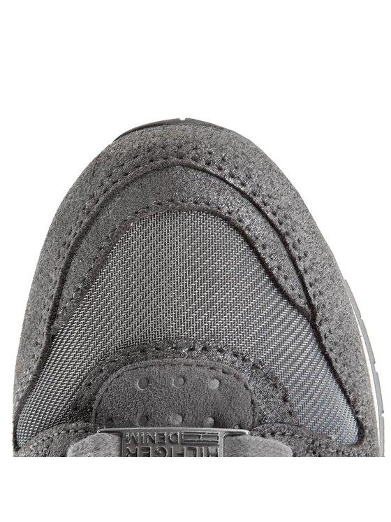 Tommy Hilfiger Tommy Hilfiger Sneakers DENIM Land 1C EN56818749 Argintiu