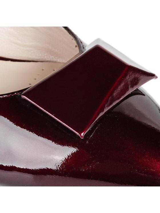 Clarks Clarks Κλειστά παπούτσια Amulet Myth 261038924 Κόκκινο