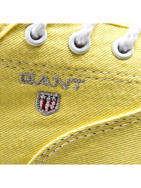Gant Gant Sneakers aus Stoff New Haven 10538569 Gelb