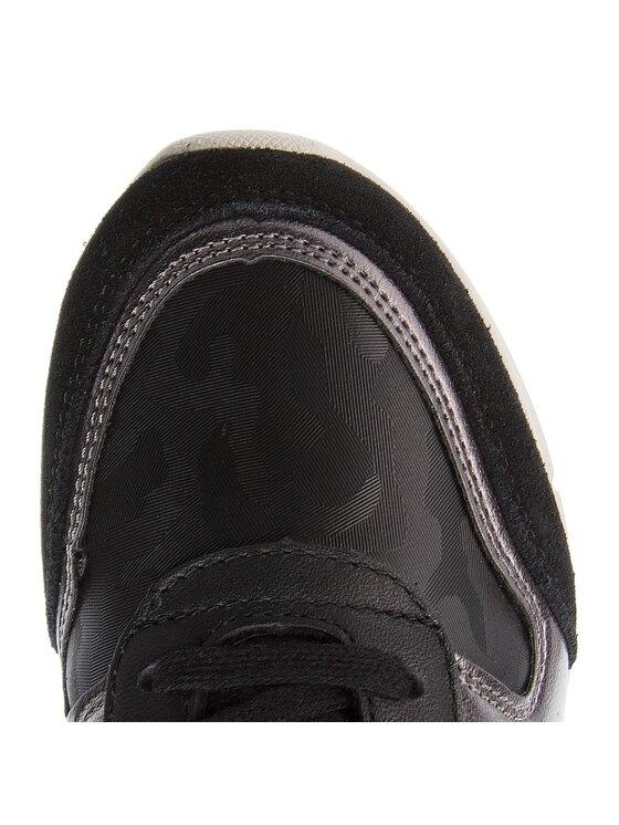 Tommy Hilfiger Tommy Hilfiger Sneakersy Camo Metallic Light Sneaker FW0FW03231 Czarny