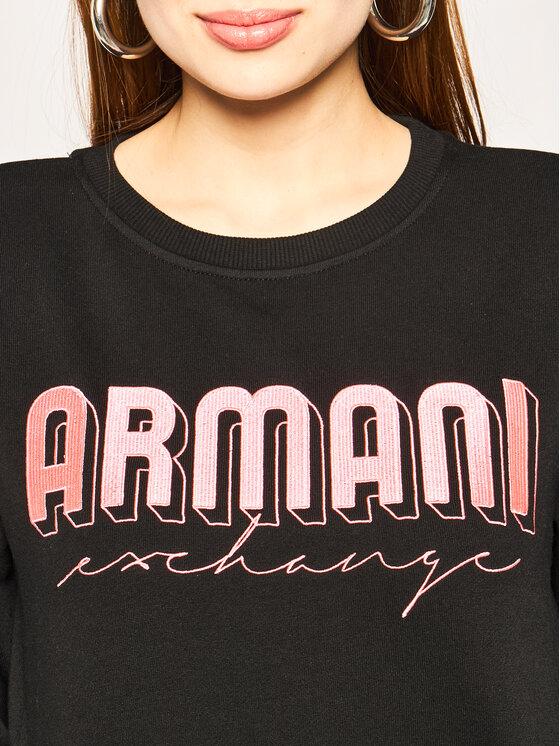 Armani Exchange Armani Exchange Bluza 3HYM01 YJE5Z 1200 Czarny Regular Fit
