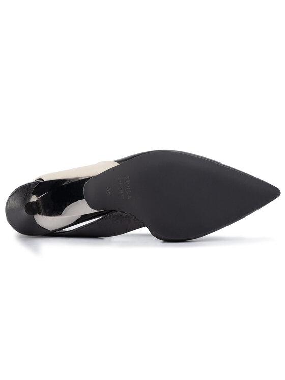 Furla Furla Sandały Fold 1050294 S YC54 W35 Czarny