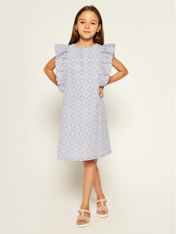 Primigi Primigi Φόρεμα κομψό Tropez Memories 45112511 Μπλε Regular Fit