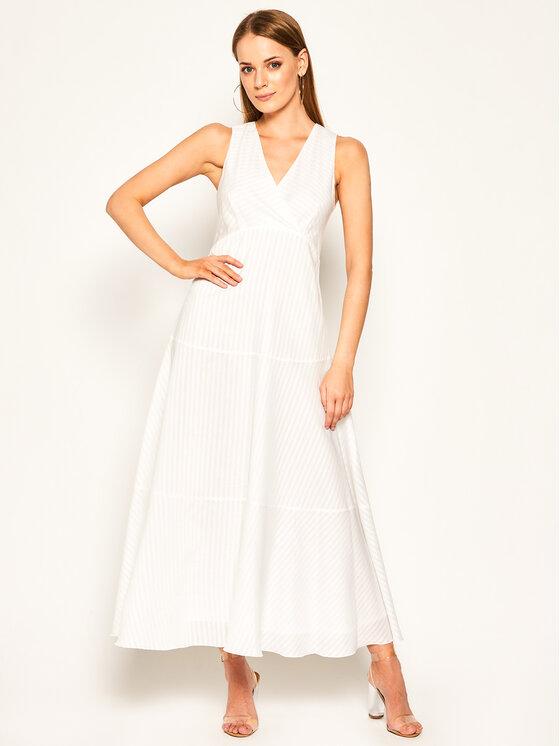 Sportmax Code Kasdieninė suknelė Cannes 72210504 Balta Regular Fit