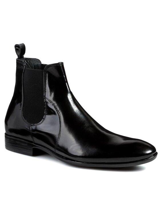 Joop! Joop! Kotníková obuv s elastickým prvkem Pippo 5H1224 Černá