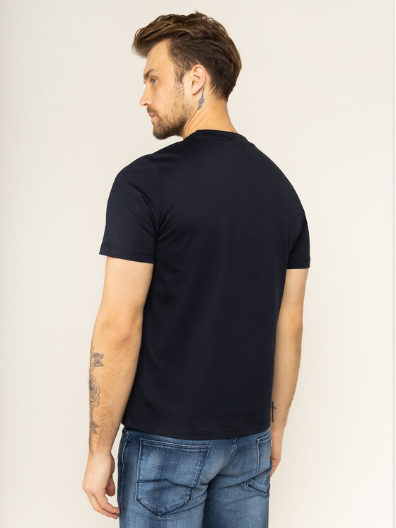 Emporio Armani Emporio Armani T-Shirt 3H1TD0 1J30Z 0922 Dunkelblau Regular Fit