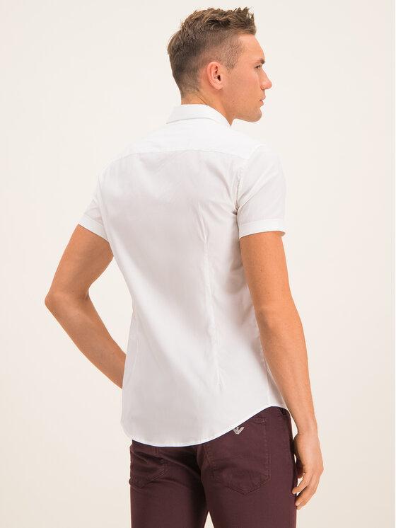 Emporio Armani Emporio Armani Camicia 8N1C10 1N06Z 0100 Bianco Slim Fit