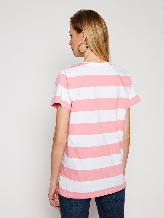 PLNY LALA PLNY LALA T-Shirt Kiss PL-TH-VN-00003 Kolorowy Classic Fit