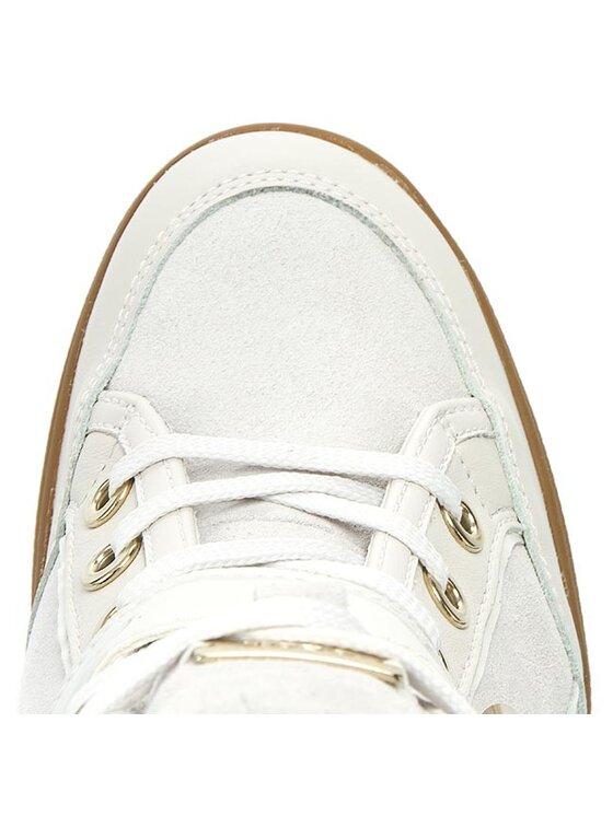 Geox Geox Αθλητικά D Eleni C D6267C 02285 C1002 Λευκό