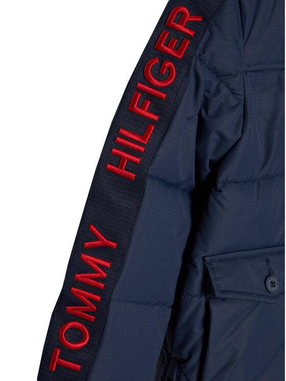 Tommy Hilfiger Tommy Hilfiger Kurtka puchowa Arctic Tape KB0KB05995 M Granatowy Regular Fit