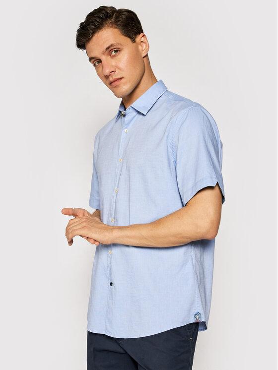 Pierre Cardin Marškiniai 53914/000/27150 Mėlyna Modern Fit