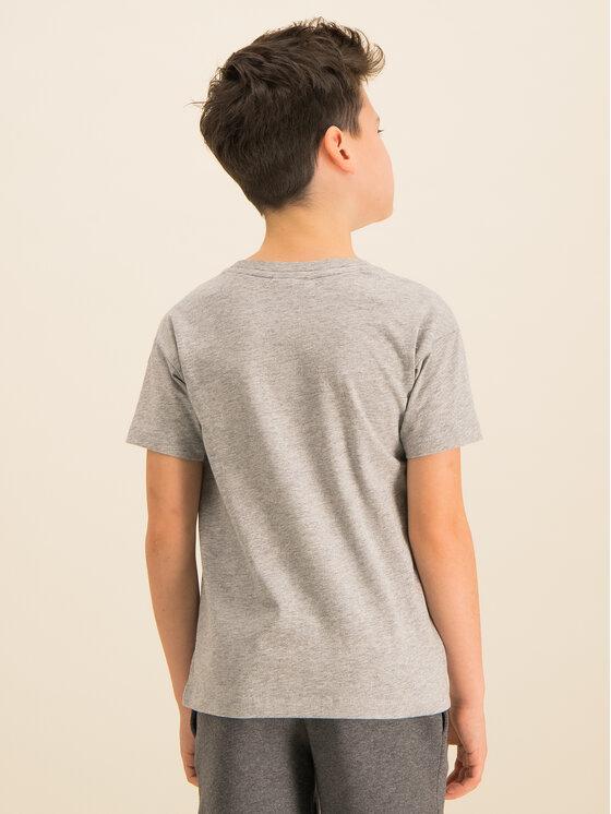 Lacoste Lacoste T-Shirt TJ8060 Szary Regular Fit