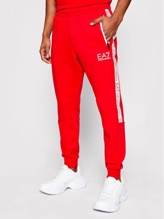 EA7 Emporio Armani EA7 Emporio Armani Spodnie dresowe 3KPP51 PJ05Z 1451 Czerwony Regular Fit