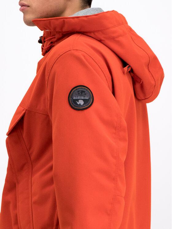 Napapijri Napapijri Anorak Skidoo N0YI4R Orange Regular Fit
