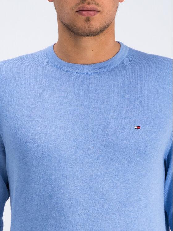 Tommy Hilfiger Tommy Hilfiger Sweter Organic Cotton MW0MW10857 Niebieski Regular Fit
