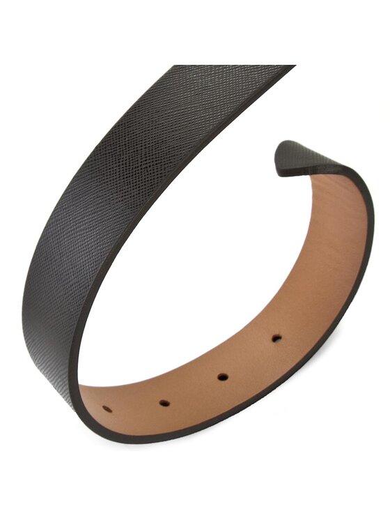 Tommy Hilfiger Tommy Hilfiger Damengürtel Modern Leather Belt 3.0 Rev AW0AW02987 75 Schwarz